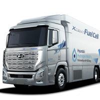 Hyundai H2 XCient Fuel Cell, un camión de pila de combustible de hidrógeno que llega a Europa en 2020