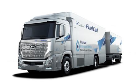Hyundai H2 XCIENT Fuel Cell
