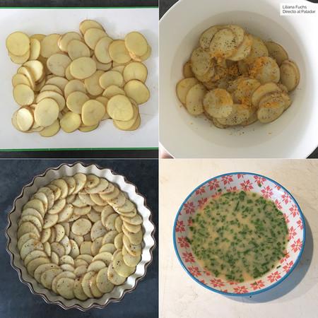 Patatas Mostaza. Pasos