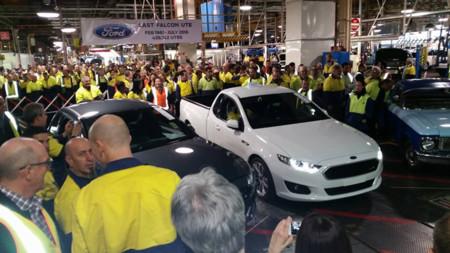 Ford Australia ya ha fabricado el último Falcon Ute y no se contempla un sucesor