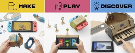Nintendo Labo: las nuevas experiencias interactivas para la Switch son juguetes hechos de cartón