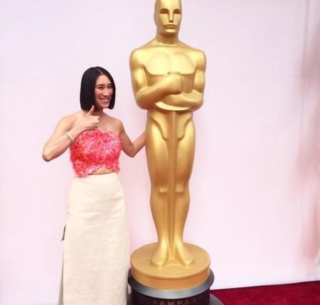 Delpozo pisa la alfombra roja de los Oscar 2015 de la mano de Eva Chen