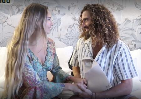 Claudia Acevedo ('La Isla de las Tentaciones 3'), el mayor apoyo de Raúl Gines tras la muerte de su padre por covid