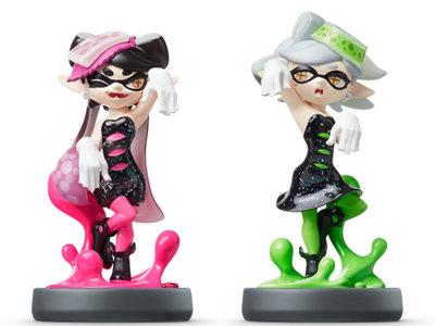 Muestran varias imágenes de los nuevos amiibos de Splatoon, incluidos las Squid Sisters