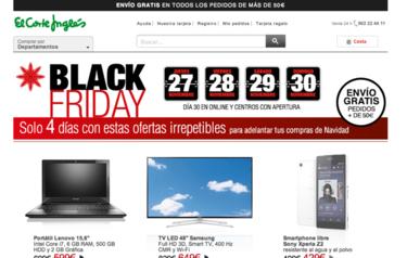 Ya es Black Friday en El Corte Inglés con descuentos de hasta el 70%
