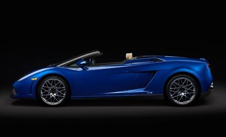 Lamborghini Gallardo LP 550-2 Spyder azul