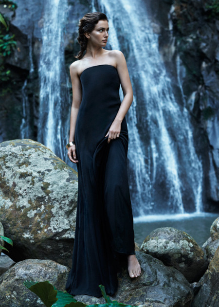 Mango vestido catalogo verano 2014 Andreea Diaconu