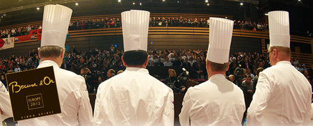 Fase Europea del Bocuse d'Or 2012