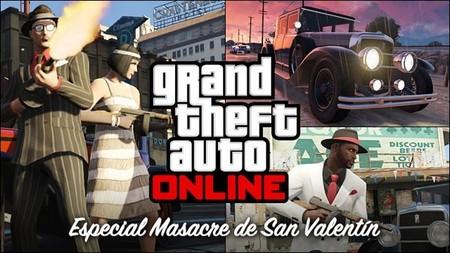 GTA Online se tiñe de rojo (más) con su Especial Masacre de San Valentín