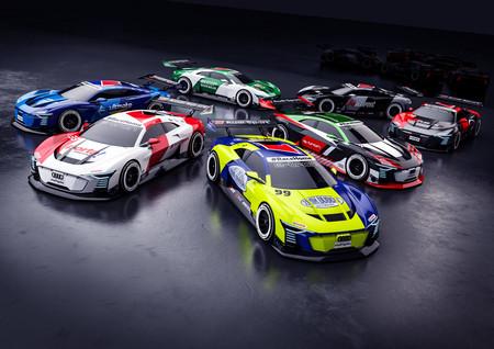 Pilotos de Audi compiten contra usuarios en carreras virtuales por una buena causa