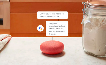 Google Home Mini Coral Alarma