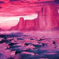 Este color rosa brillante es el color más antiguo del mundo