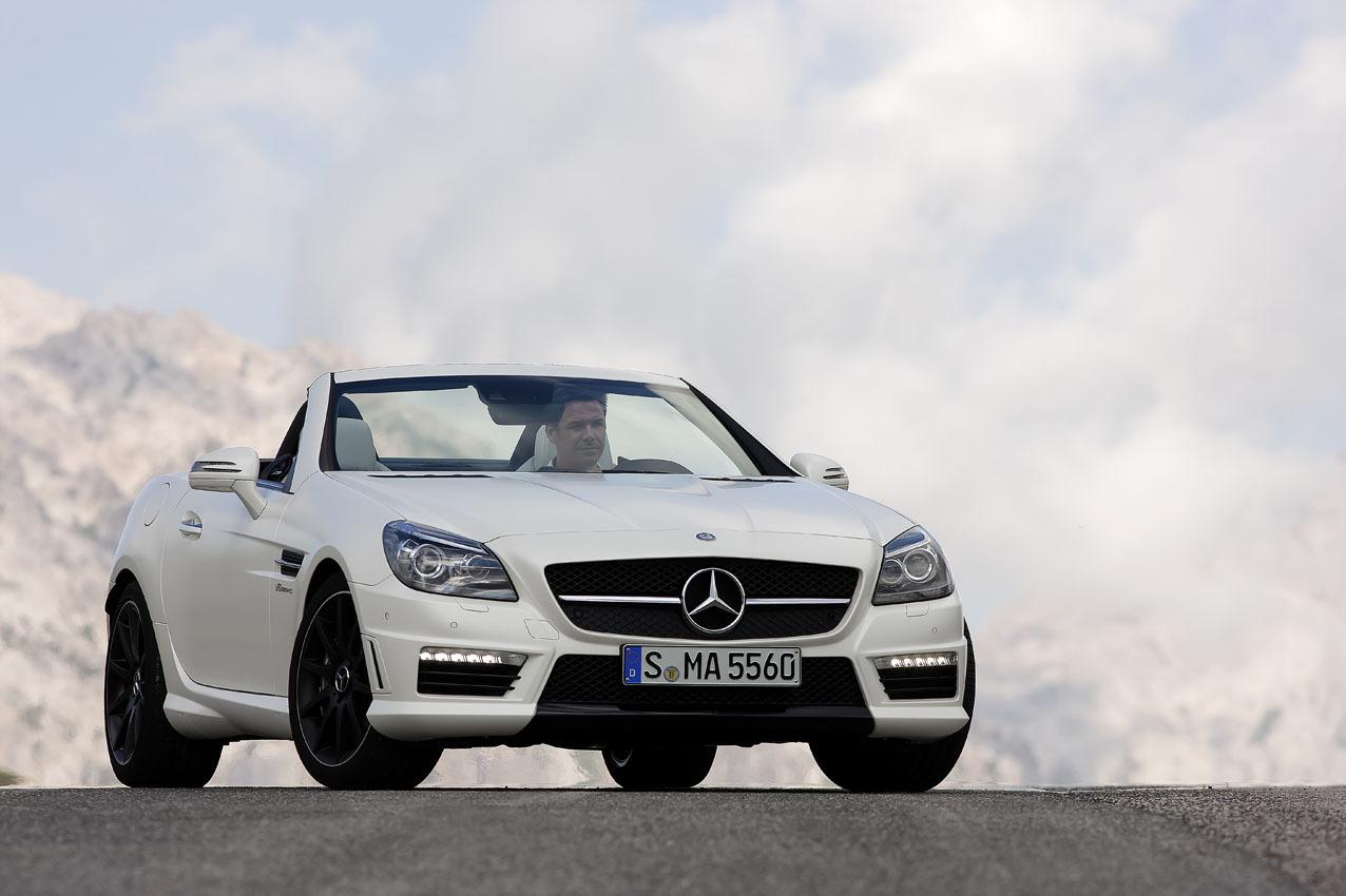 Foto de Mercedes-Benz SLK 55 AMG (8/13)