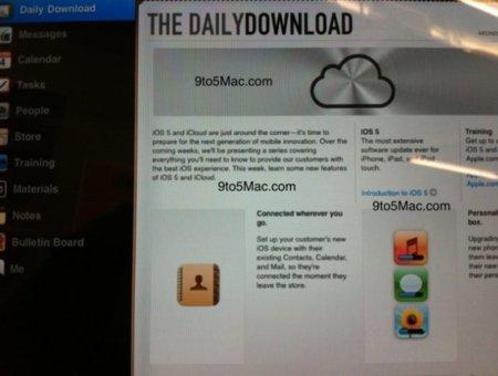 Varios documentos internos sugieren que iOS 5 y iCloud están cerca