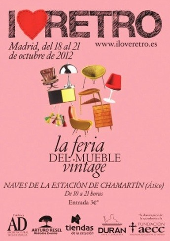 "II Feria ""I love retro"" en Madrid"