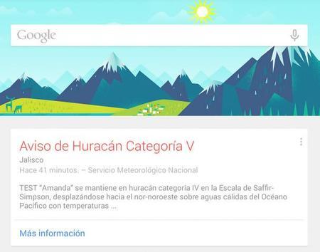 Alertas Públicas de Google ahora también disponibles en México