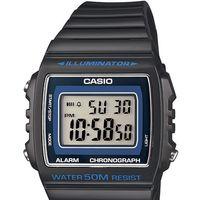 Moda vintage útil con el reloj Casio W-215H-8AVEF. Ahora por 16,98 euros en Amazon