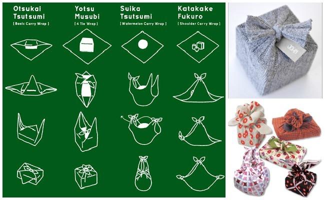 envolver regalos furoshiki
