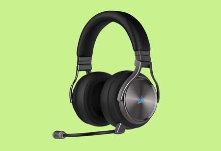 Si buscas auriculares gaming inalámbricos, multiplataforma y en oferta, ojo a estos Corsair rebajados a 169,99 euros en Amazon