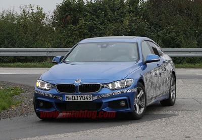 Fotos espía: Habrá un BMW Serie 4 Gran Coupe