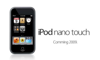 Opinión: El multitouch de los posibles nuevos iPod Nano: ¿Completo o limitado?