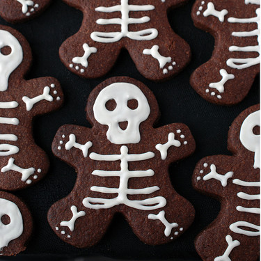 Esqueletos de chocolate: receta de galletas divertidas para Halloween