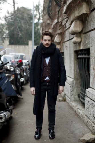 Looks de calle en la Semana de la Moda de Milán