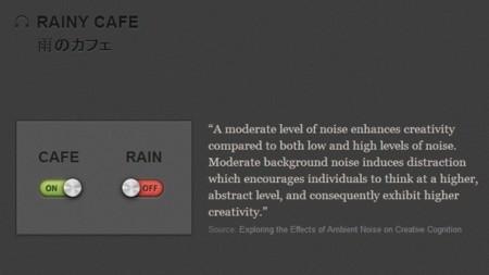 Rainy Cafe: en una cafetería mientras llueve