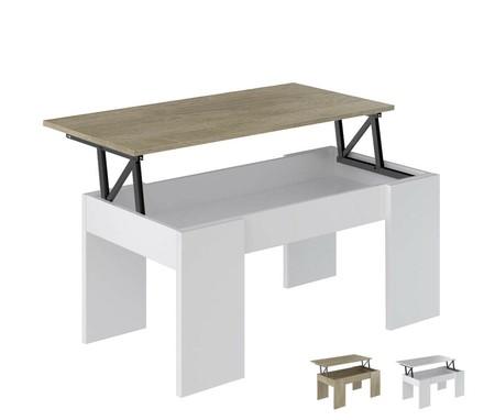 La mesa de centro elevable MC-4 está disponible en tres colores distintos por 34,90 euros con envío gratis en eBay