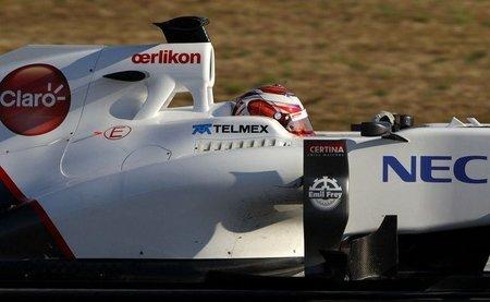 """Kamui Kobayashi: """"Estamos contentos, el coche ha mejorado desde Jerez"""""""