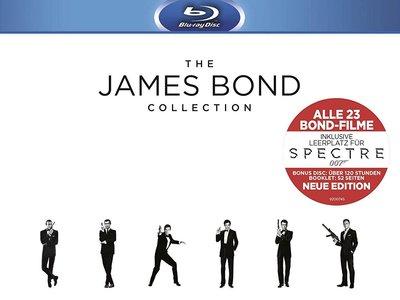 Cyber Monday: pack de 24 películas de James Bond, en Blu-ray, por sólo 63,24 euros