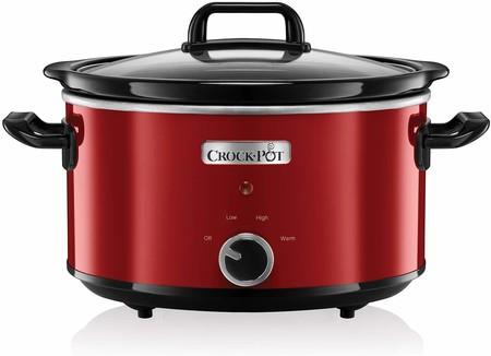 Hasta medianoche tenemos la olla de cocción lenta Crock-Pot SCV400RD-050, de 3,5 litros de capacidad, por 33,99 euros en Amazon
