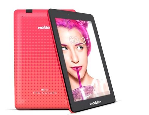 Wolder miTab Pro Colors: especificaciones básicas y precio ajustado para una tablet con mucho colorido