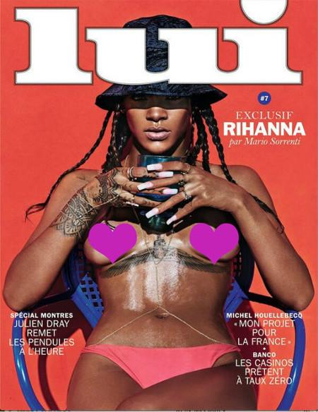 Marchando portada de Rihanna en lolas. Lo habitual vamos