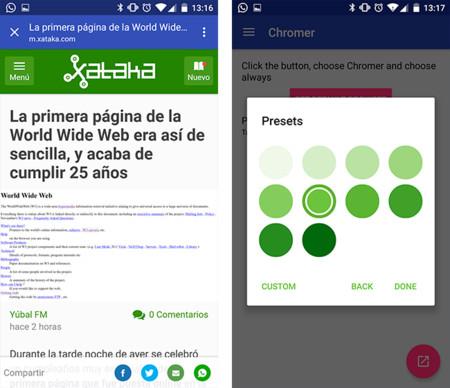 Cómo configurar y utilizar las Chrome Custom Tabs en cualquier dispositivo Android