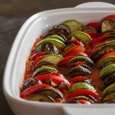 Conoces el Ratatouille. Un plato estrella de la comida mediterránea. Receta fácil