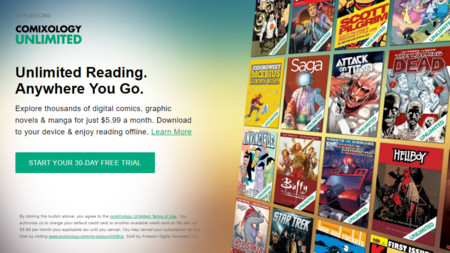 Amazon lanza ComiXology Unlimited, el Netflix de los cómics online