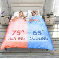 ¿Frío o calor por la noche? Este edredón inteligente te permite ajustar en zonas la temperatura de la cama