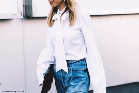 Camisas Blancas Moda Calle 8