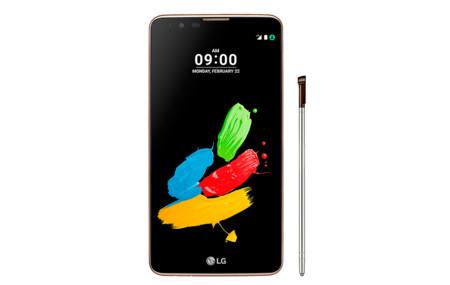 Stylus 2 Plus, la versión mejorada del phablet de LG que llegará a México