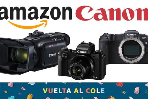 Ofertas en equipos fotográficos y de vídeo Canon en Amazon