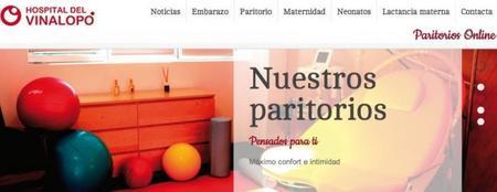 Paritorios online, un portal sobre salud del Hospital del Vinalopó