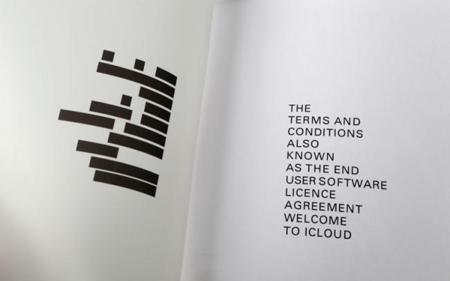 Imagen de la semana: un relato corto generado de las condiciones de uso de iCloud