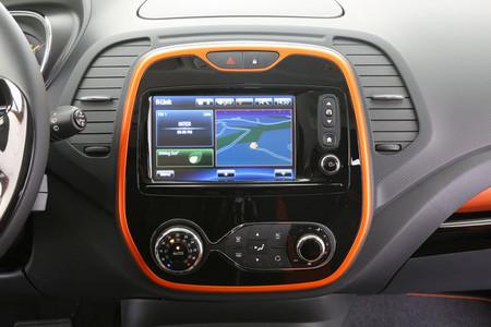 Renault Captur 2013, consola central