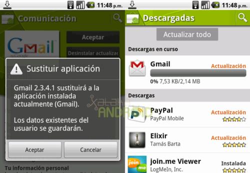 Gmail2.3.4.1,Googlesolucionalosfallosdelaactualizaciónanterior(actualizado)
