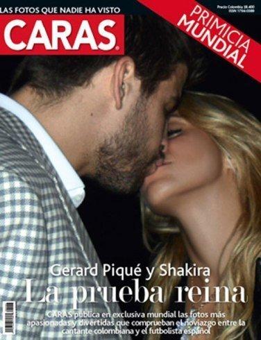 El beso de Shakira, Rihanna a lo Jessica Rabitt en Vogue y mucho más en la semana en Poprosa
