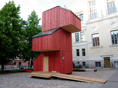 ¿Vivirías en una casa compuesta por módulos que se apilan? Kokoon es un hogar que cuesta 14.000 euros