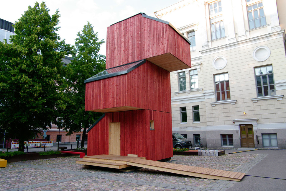 Kokoon vivir enuna casa compuesta por m dulos apilables un hogar por - Modulos de casas ...