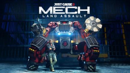 El segundo DLC de Just Cause 3 ya tiene fecha: los Mechas se suman al festival de destrucción
