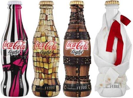 Nueva Coca Cola Light diseñada por Gianfranco Ferré